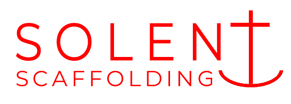 Solent scaffolding red logo